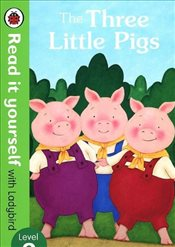 Three Little Pigs : Read It Yourself With Ladybird Level 2 - Ladybird,