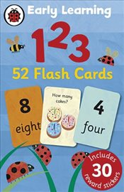 Early Learning 123 Flash Cards - Ladybird,