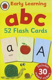 Early Learning ABC Flash Cards - Ladybird,