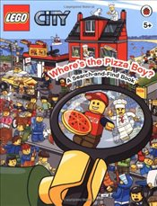 LEGO City : Wheres the Pizza Boy A Search-and-Find Book - Ladybird,