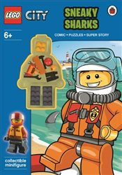 LEGO City : Sneaky Sharks Activity Book with Minifigure - Ladybird,