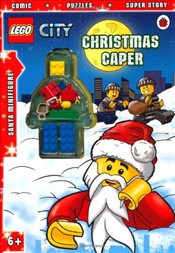 LEGO City : Christmas Caper Activity Book with Minifigure - Ladybird,