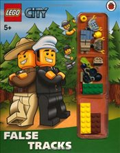 LEGO City : False Tracks Storybook with Minifigures and Accessories - Ladybird,