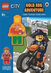 LEGO City : Gold Egg Adventure Activity Book with Minifigure - Ladybird,