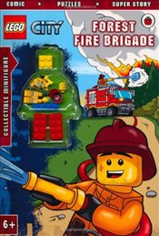 LEGO City : Forest Fire Brigade Activity Book with Minifigure - Ladybird,