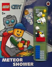 LEGO City : Meteor Shower Storybook with Minifigures and Accessories - Ladybird,