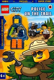 LEGO City : Police on the Trail Activity Book with Minifigure - Ladybird,