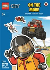 LEGO City : On The Move Sticker Activity Book - Ladybird,
