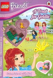 LEGO Friends : A Treat for Goldie Activity Book with Mini-set - Ladybird,