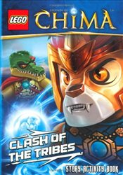 LEGO Legends of Chima : Clash of the Tribes Story Activity Book - Ladybird,