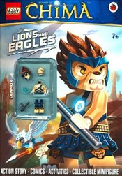 LEGO Legends of Chima : Lions and Eagles Activity Book with Minifigure - Ladybird,