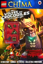 LEGO Legends of Chima : Wolves and Crocodiles Activity Book with Minifigure - Ladybird,