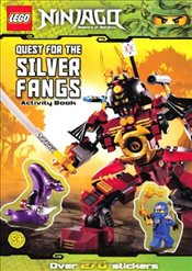 LEGO Ninjago : Quest for the Silver Fangs Sticker Activity - Ladybird,