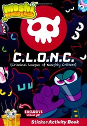 Moshi Monsters C.L.O.N.C Sticker Activity - Ladybird,