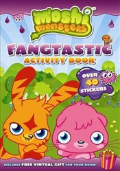 Moshi Monsters Fangtastic Activity Book with Stickers - Ladybird,