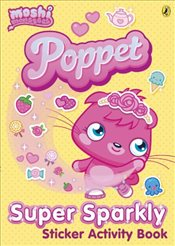 Moshi Monsters : Poppet Sparkly Sticker Activity Book - Ladybird,
