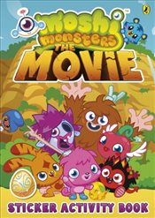 Moshi Monsters : The Movie Sticker Book - Ladybird,