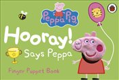 Peppa Pig : Hooray Says Peppa Finger Puppet Book - Ladybird,