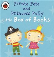 Pirate Pete and Princess Pollys Little Box of Books - Ladybird,