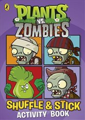 Plants vs. Zombies : Shuffle & Stick Activity Book - Ladybird,