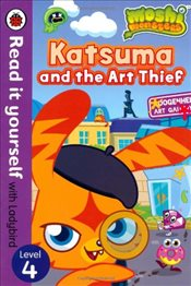 Moshi Monsters : Katsuma and the Art Thief : Read It Yourself With Ladybird : Level 4 - Ladybird,