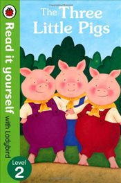 Three Little Pigs : Read It Yourself With Ladybird : Level 2 - Ladybird,