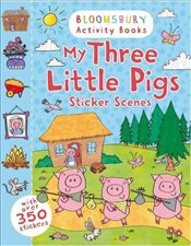 My Three Little Pigs Sticker Scenes - Collective,