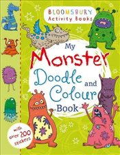 My Monster Doodle and Colour Book - Collective,