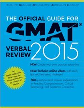 Official Guide for GMAT 2015 Verbal Review with Online Question Bank and Exclusive Video - GMAC - Graduate Management Admission Council