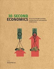 50 Most Thought-Provoking Economic Theories, Each Explained in Half a Minute - Marron, Donald