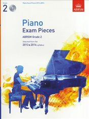 ABRSM Selected Piano Exam Pieces : 2013-2014 : Grade 2 : Book/CD - CD, Sheet Music - ABRSM,