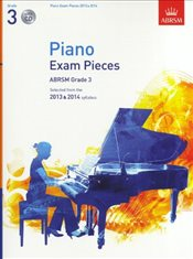 ABRSM Selected Piano Exam Pieces : 2013-2014 : Grade 3 : Book/CD Sheet Music -