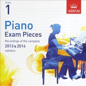ABRSM Piano Exam Pieces : 2013-2014 : Grade 1 : CD Only - ABRSM,