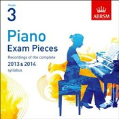 Piano Exam Pieces 2013-14 Grade 3 : ABRSM Exam Pieces - ABRSM,