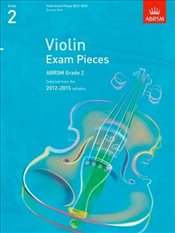 Violin Exam Pieces G 2 Score & Part - ABRSM,