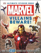 Marvel Villains Beware Ultimate Sticker Book - Beecroft, Simon