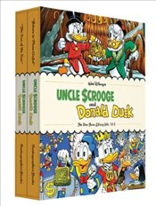 Walt Disneys Uncle Scrooge and Donald Duck : The Don Rosa Library Volumes : 1 & 2 Gift Box Set - Rosa, Don