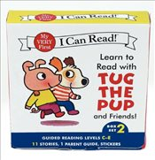 Learn to Read With Tug the Pup and Friends! Set 2 : Guided Reading Levels C-E - Wood, Julie M.