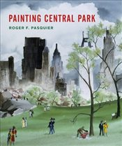 Painting Central Park - Pasquier, Roger