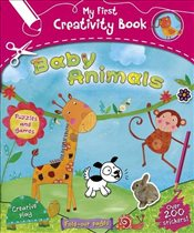 My First Creativity Book : Baby Animals - Collective,