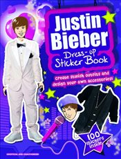 Justin Bieber Sticker Dress-Up Book - Collective,
