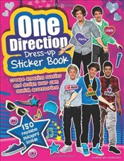 One Direction Dress-up Sticker Book - Collective,
