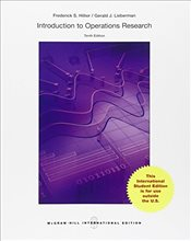 Introduction to Operations Research 10e ISE - Hillier, Frederick S.