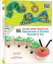 Very Hungry Caterpillar Cookbook and Cookie Cutters Kit - Carle, Eric