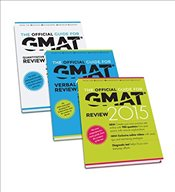 Official Guide for GMAT 2015 Review Bundle (Official Guide + Verbal Guide + Quantitative Guide) - GMAC - Graduate Management Admission Council