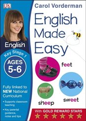 English Made Easy Ages 5-6 Key Stage 1 (Carol Vordermans English Made Easy) - Vorderman, Carol