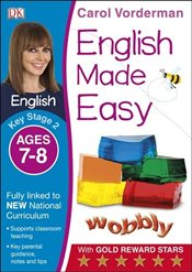 English Made Easy Ages 7-8 Key Stage 2 (Carol Vordermans English Made Easy) - Vorderman, Carol