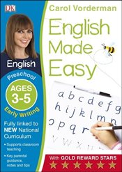 English Made Easy Early Writing Preschool Ages 3-5 (Carol Vordermans English Made Easy) - Vorderman, Carol