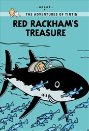Red Rackhams Treasure : Tintin Young Readers Editions - Herge,