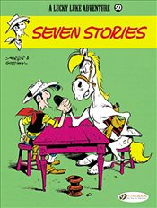 Lucky Luke : Seven Stories :  Volume 50 - Goscinny, Rene